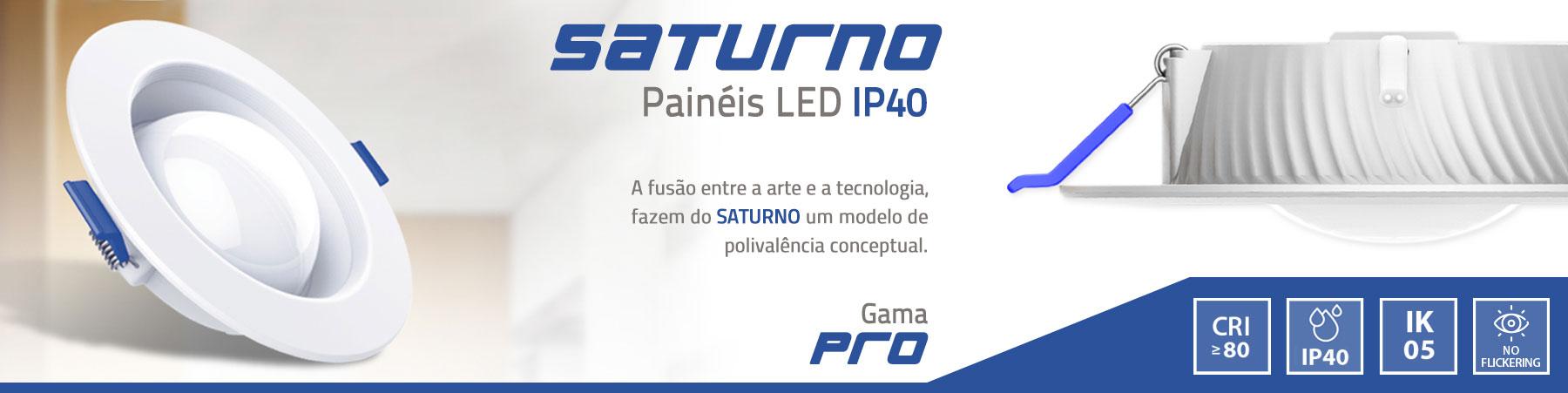 SATURNO painel led LEDUP