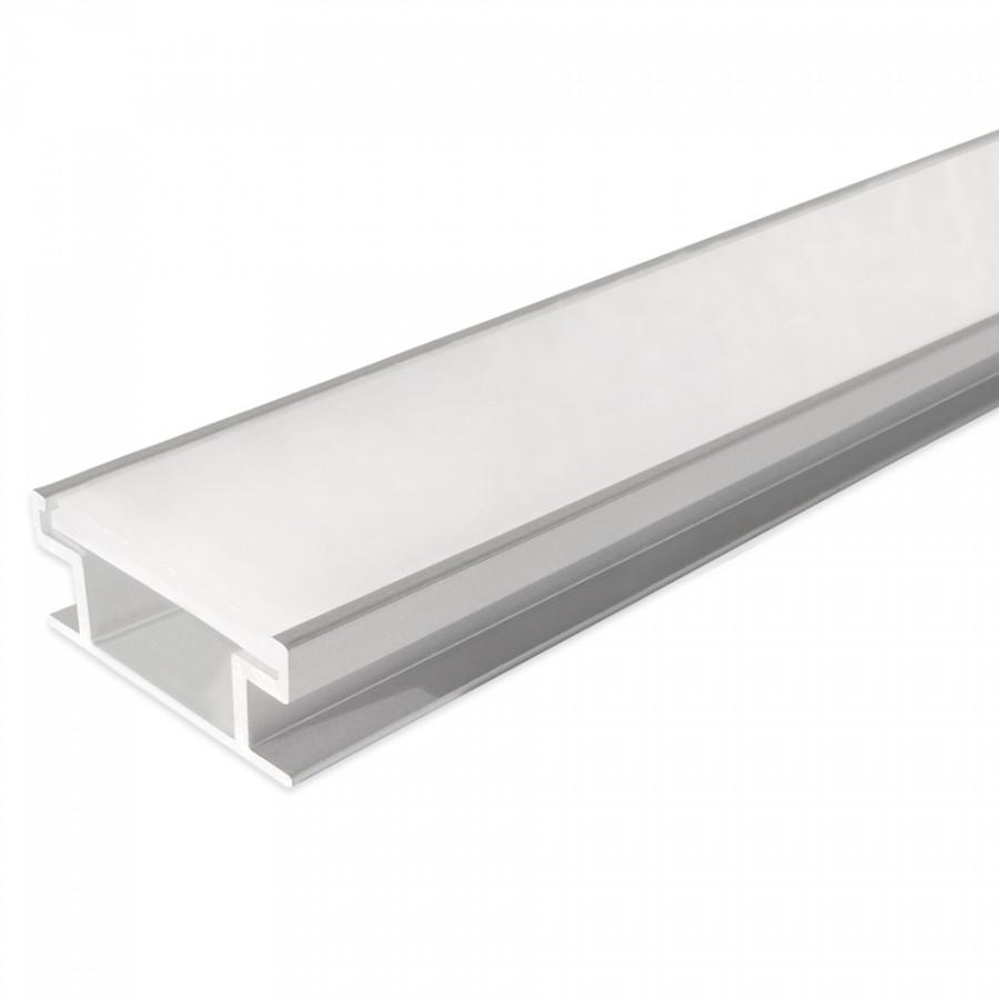 Perfil para Pavimento (indoor) | Difusor Opalino
