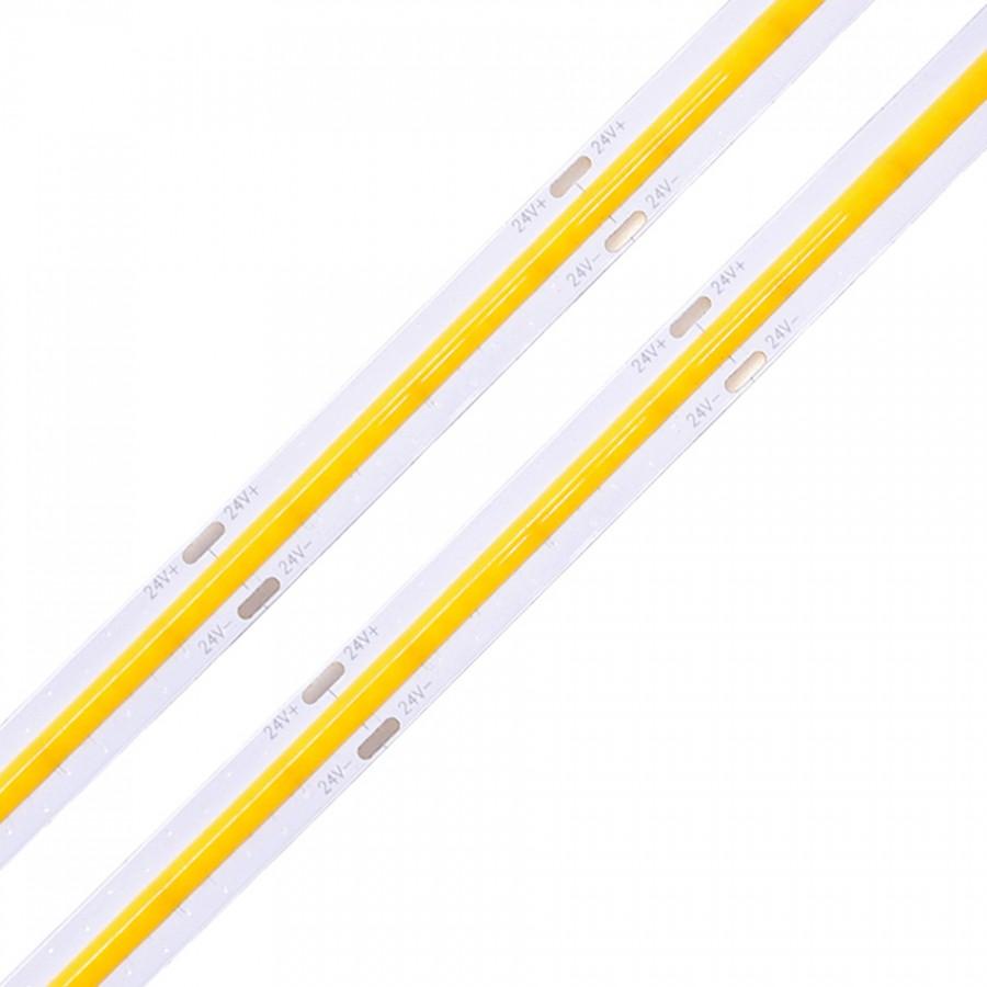 FITA LED 24V 10W COB IP20 PREMIUM | 3000K