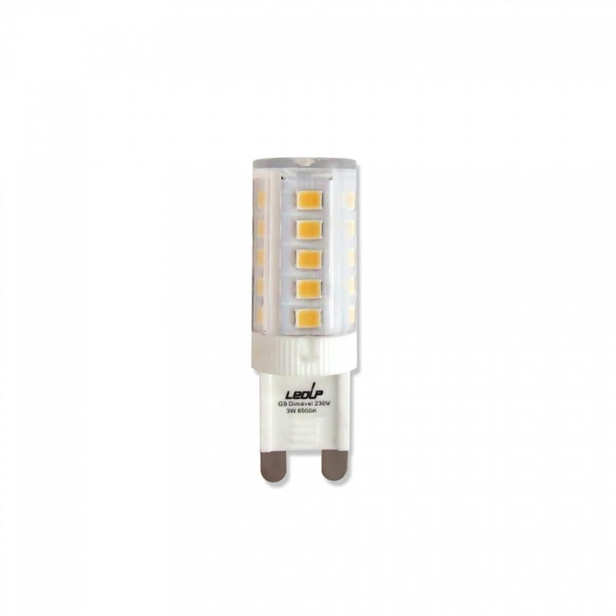 Lâmpada LED Dimável G9 3W 3000K | ECO